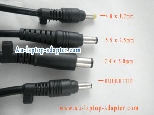 Difference between HP / Compaq adapter tip